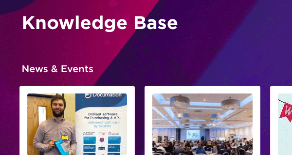 Documation knowledge base website design