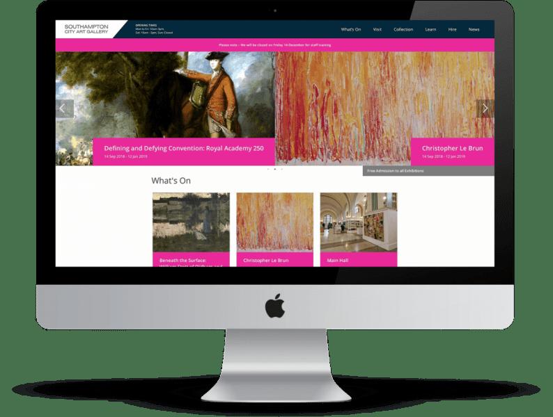 southampton city art gallery desktop