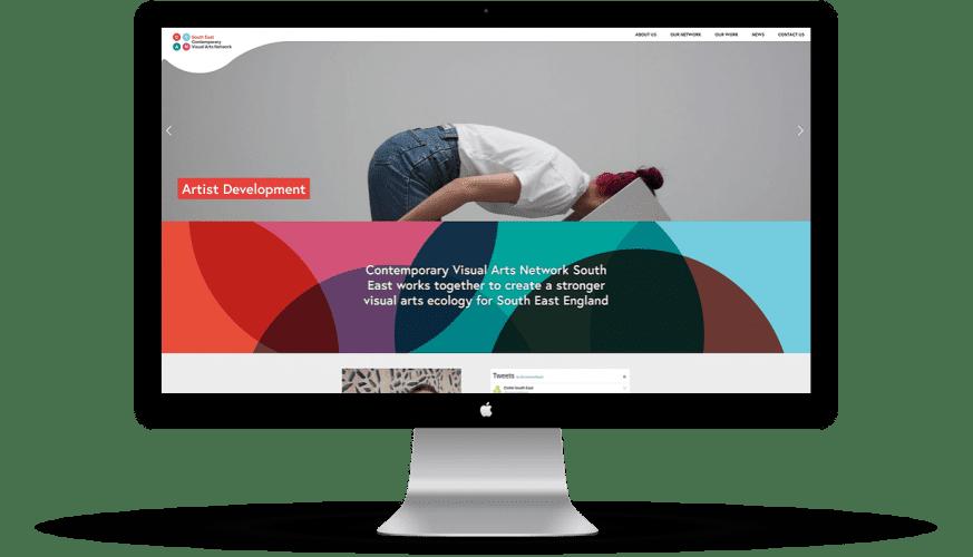 CVAN website desktop mockup