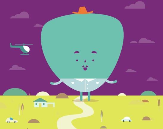 aster illustration scene