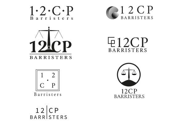 12CP logo concepts