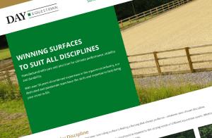 Screenshot of Day Equestrian – WordPress Website website